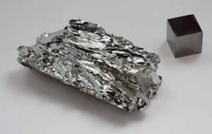 Molybdenum - pretty, but does it taste good? photo by  Alchemist-hp